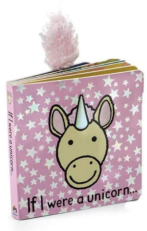 JELLYCAT Book If I Were A Unicorn - PinkiBlue