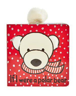 JELLYCAT Book If I Were A Polar Bear - PinkiBlue