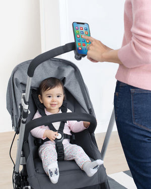 SKIP HOP Stroll & Connect Universal Phone Holder - PinkiBlue