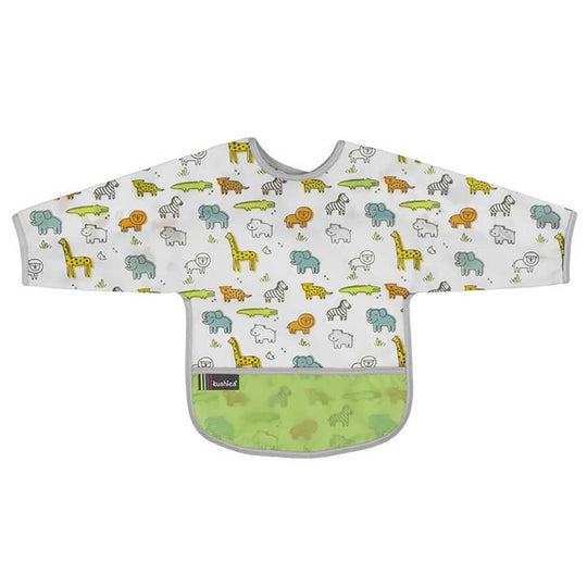 Kushies - KUSHIES Cleanbib With Sleeves - Available at Boutique PinkiBlue