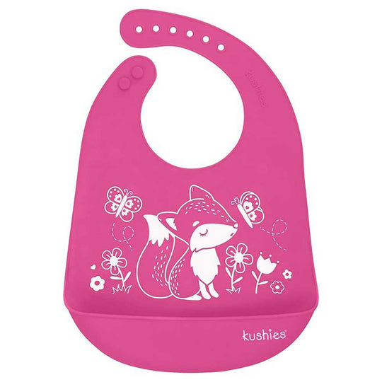 Kushies - KUSHIES Silicatch Bib - Available at Boutique PinkiBlue