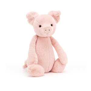 JELLYCAT 7in Bashful Pig - PinkiBlue