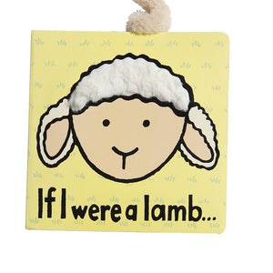 JELLYCAT Book If I Were A Lamb - PinkiBlue