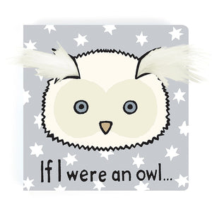 JELLYCAT Book If I Were An Owl - PinkiBlue