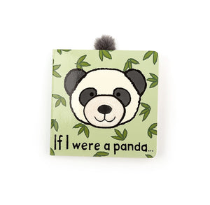 JELLYCAT Book If I Were A Panda - PinkiBlue