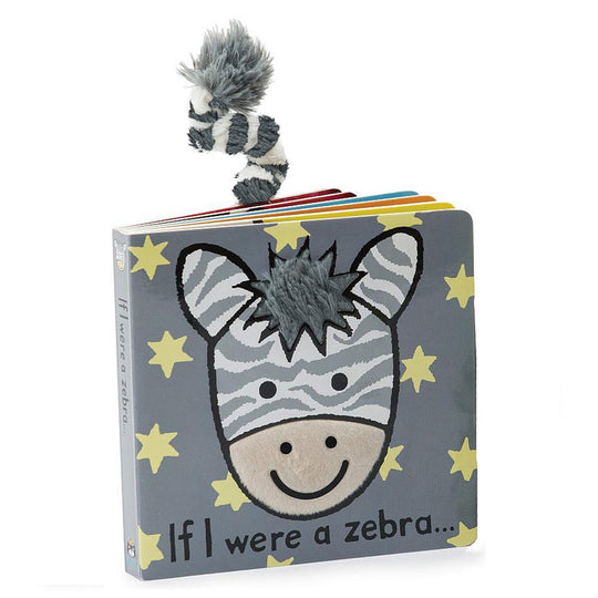 JellyCat - JELLYCAT Book If I Were A Zebra - Available at Boutique PinkiBlue