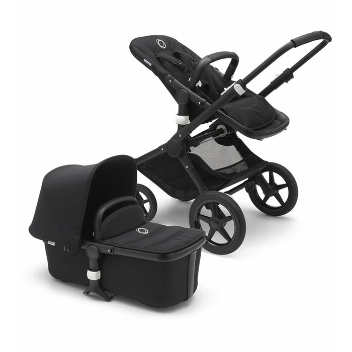 BUGABOO FOX Black Chassis - Black Base