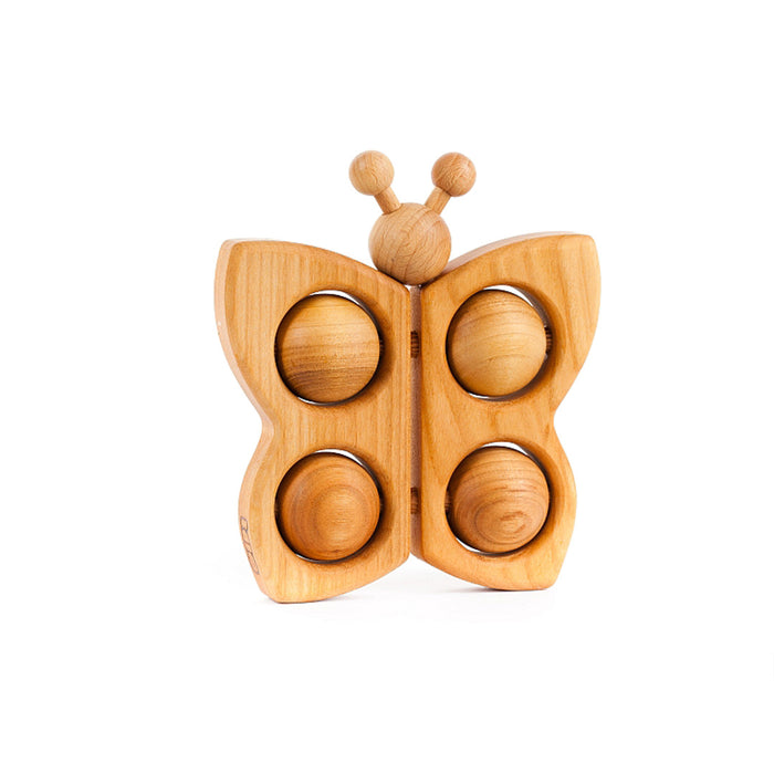 BAJO Wooded Toys Natural Butterfly