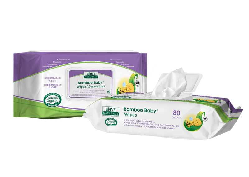Aleva - ALEVA NATURALS Bamboo Baby Wipes - Available at Boutique PinkiBlue