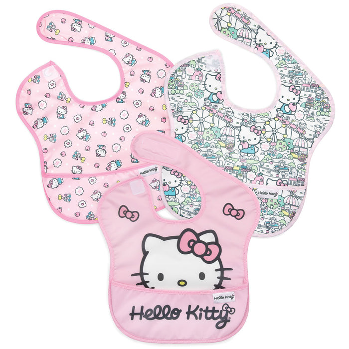 BUMKINS Hello Kitty SuperBib - 3 Pack