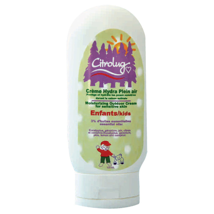 CITROLUG Bug Repellent - Moisturizing Outdoor Cream for Kids