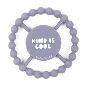 BELLA TUNNO Happy Teether - Kind is Cool - PinkiBlue