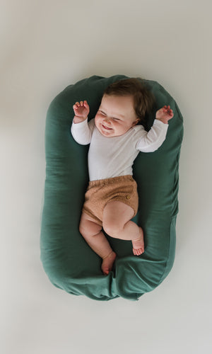 SNUGGLE ME Organic Infant Lounger - Natural - PinkiBlue