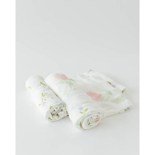 LITTLE UNICORN Deluxe Muslin Swaddle 2Pack