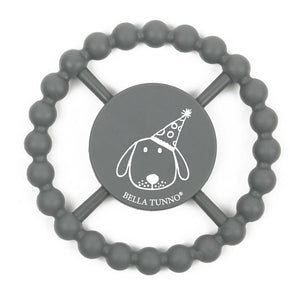 BELLA TUNNO Happy Teether - Dog - PinkiBlue