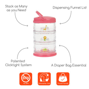 INNOBABY Packing Smart 3 Tier - PinkiBlue