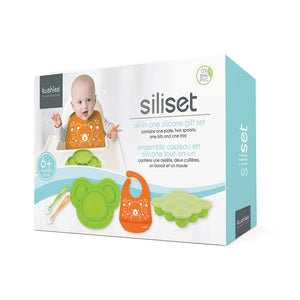 KUSHIES SiliSet - Citrus/Carrot - PinkiBlue