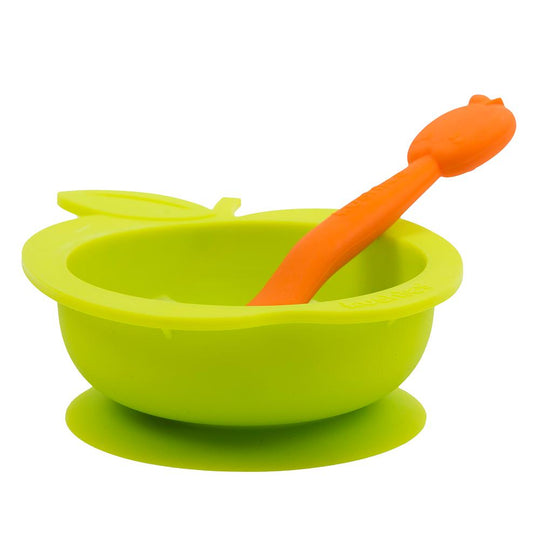 KUSHIES SiliBowl & Spoon Set