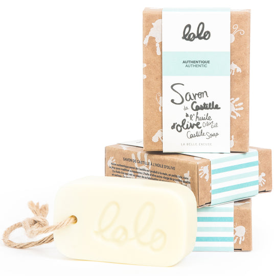 Lolo - LOLO Olive Oil Castile Soap - Authentic - Available at Boutique PinkiBlue
