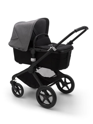 BUGABOO FOX Black Chassis - Black Base - PinkiBlue