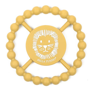 BELLA TUNNO Happy Teether - Lion - PinkiBlue