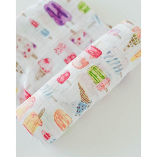 Little Unicorn - LITTLE UNICORN Cotton Muslin Swaddle Single - Available at Boutique PinkiBlue