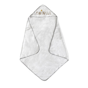 LIVING TEXTILES Hooded Towel - PinkiBlue