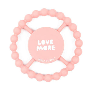 BELLA TUNNO Happy Teether - Love More - PinkiBlue