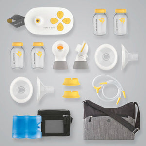 MEDELA Pump In Style MaxFlow Breast Pump - PinkiBlue