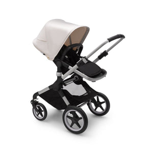 BUGABOO Fox2 Aluminium - Black / Fresh White - PinkiBlue
