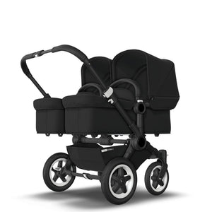BUGABOO DONKEY 2 TWIN Black Chassis - Black Base - PinkiBlue