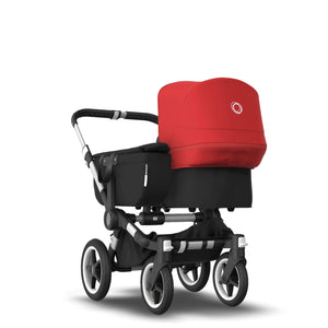 BUGABOO DONKEY 3 MONO Complete - Aluminum/Black/Red - PinkiBlue