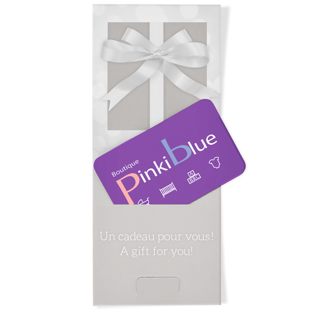 PinkiBlue - E-Gift Card - Available at Boutique PinkiBlue