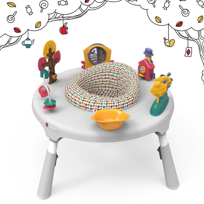 ORIBEL Portaplay Convertible Activity Center - Wonderland Adventures