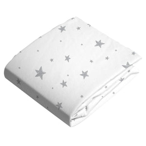 KUSHIES Flannel Playpen Fitted Sheet - PinkiBlue