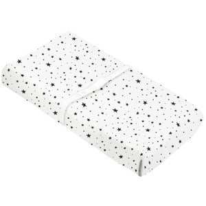 KUSHIES Flannel Change Pad Fitted Sheet - PinkiBlue