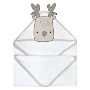 PERLIMPINPIN Hooded towel - Deer - PinkiBlue