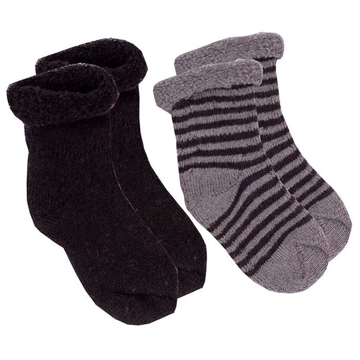 KUSHIES 2-Pack Newborn Socks