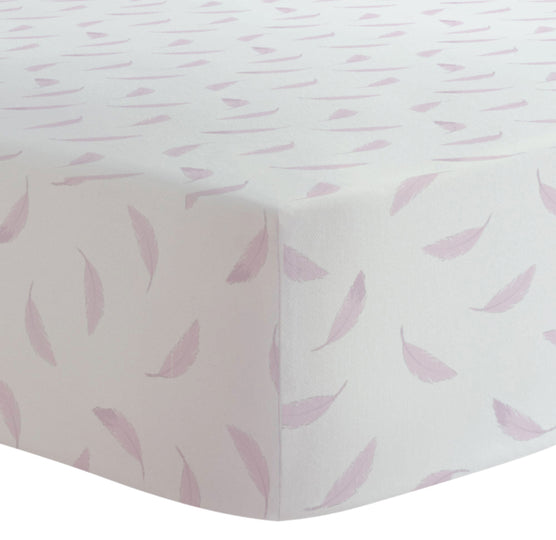 KUSHIES Organic Jersey Fitted Crib Sheet