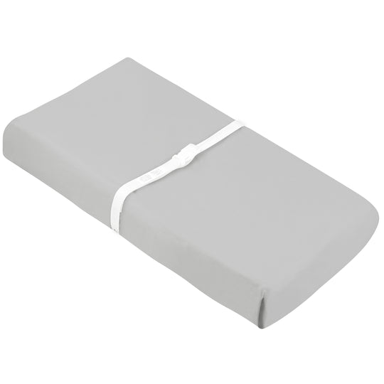 KUSHIES Organic Jersey Change Pad Fitted Sheet