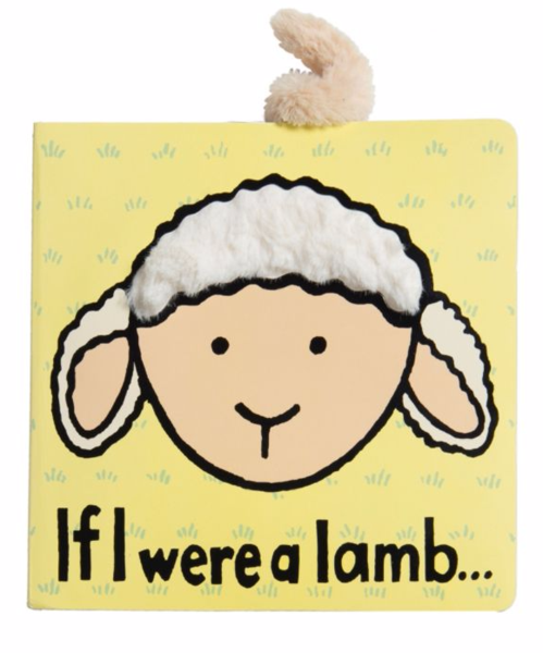 JELLYCAT Book If I Were A Lamb