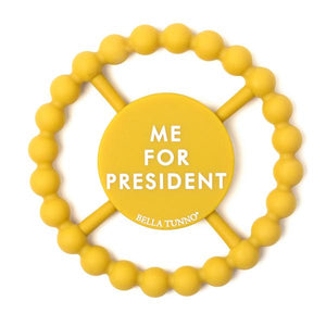BELLA TUNNO Happy Teether - Me for President - PinkiBlue