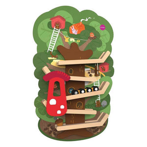 ORIBEL Vertiplay Wall Toy - Treetop Adventure - PinkiBlue