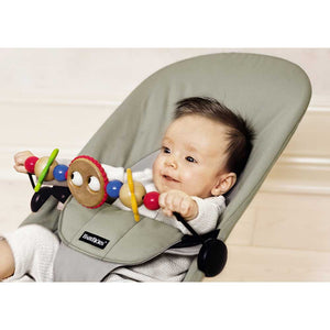 BABYBJORN Wooden Toy For Bouncer - PinkiBlue