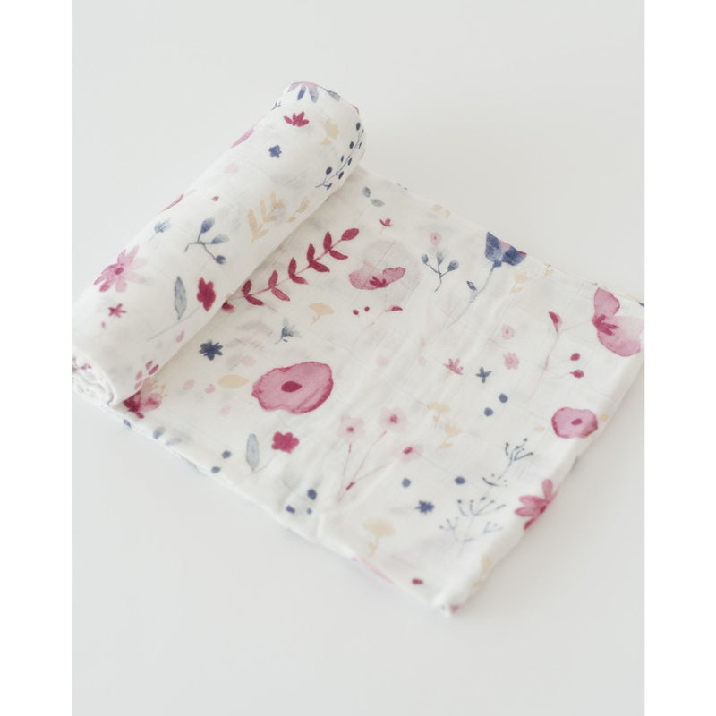 LITTLE UNICORN Deluxe Cotton Muslin Swaddle Single