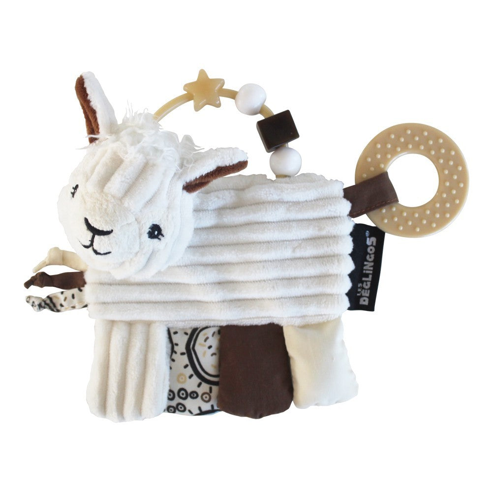 DEGLINGOS Activity Teether - Muchachos The Llama