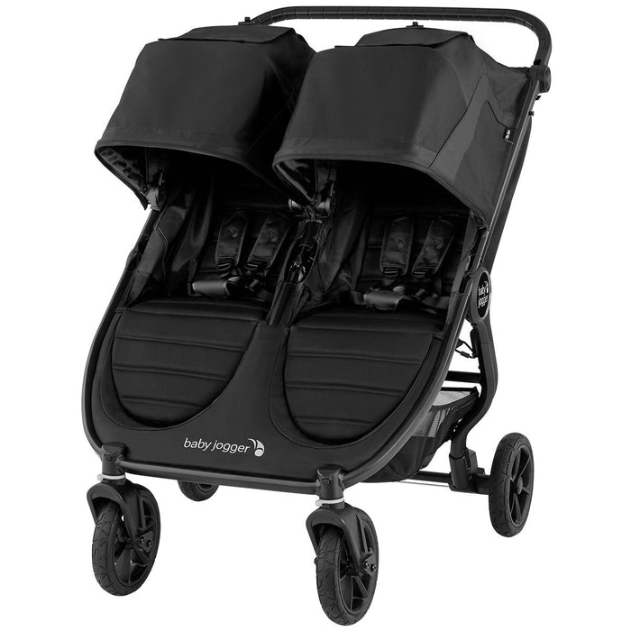 City Mini GT2 Double Stroller - Jet **SPECIAL ORDER