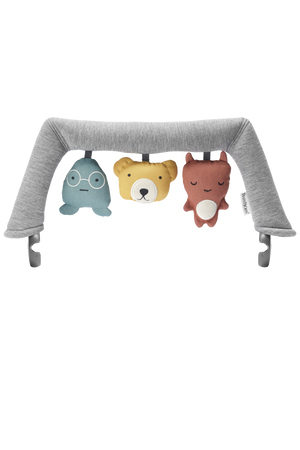 BABYBJORN Bouncer Toy Set - Soft Friends - PinkiBlue