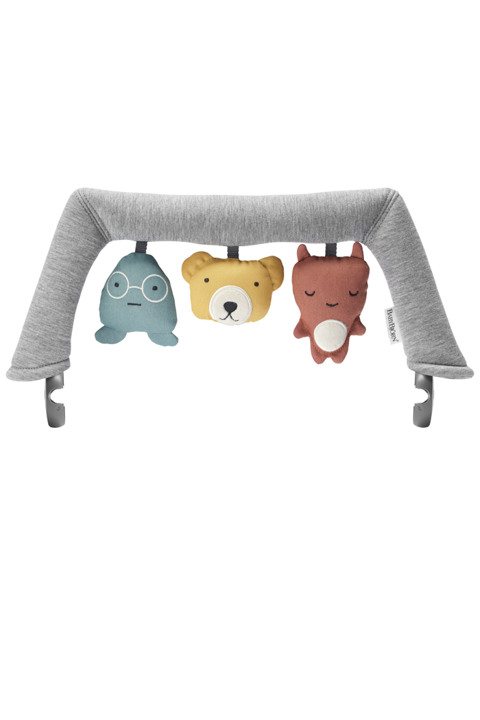 BABYBJORN Bouncer Toy Set - Soft Friends