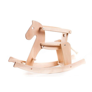 BAJO Wooded Toys Rocking Horse - PinkiBlue